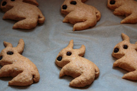 Stock Image: Bunny biscuits