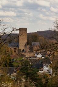 Stock Image: Burg Blankenstein Castle in Hattingen
