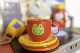 Stock Image: childrens toy kitchen
