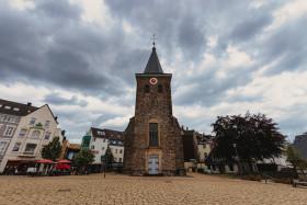 Stock Image: Church Square in Velbert