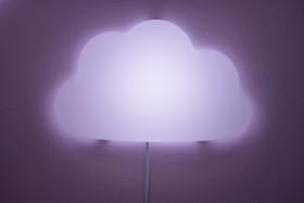 Stock Image: Cloud lamp