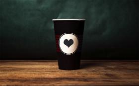 Stock Image: Coffee to go mug Mockup for Photoshop PSD