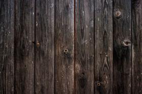 Stock Image: dark wood background