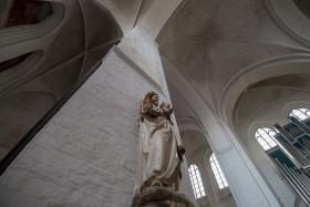 Stock Image: Dom zu Lübeck Interior Cathedral