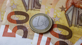 Stock Image: Euro money