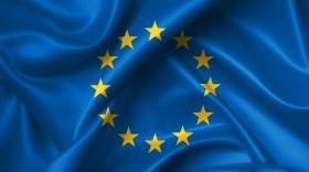 Stock Image: europe flag, the flag of the EU