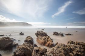 Stock Image: Faro Portugal Beautiful Seascape