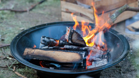 Stock Image: Fire bowl