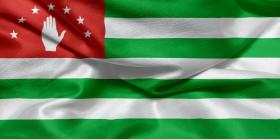 Stock Image: Flag of Abkhazia