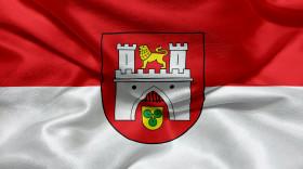 Stock Image: Flag of Hanover, Lower Saxony