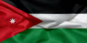 Stock Image: Flag of Jordan