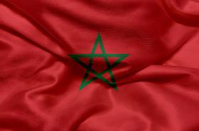 Stock Image: Flag of Morocco