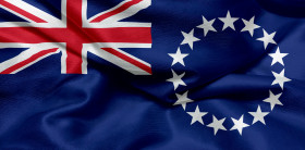 Stock Image: Flag of the Cook Islands