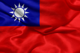 Stock Image: Flag of the Republic of China (Taiwan)