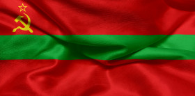 Stock Image: Flag of Transnistria