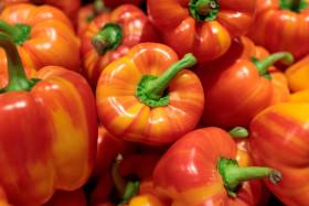 Stock Image: Fresh red pepper