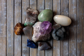 Stock Image: Gemstone collection