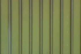 Stock Image: Green Container Metal Texture