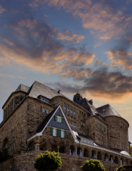 Historic town house in Velbert Langenberg by Germany, NRW