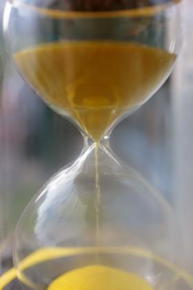 Stock Image: Hourglass
