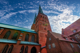 Stock Image: lubeck cathedral