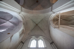 Stock Image: Lübeck Cathedral interior design