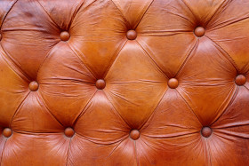 Stock Image: Luxurious leather upholstery texture