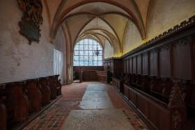 Stock Image: Marienkirche in Lübeck Interior