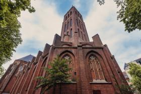 Stock Image: Martinskirche in Düsseldorf Bilk