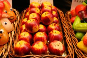 Stock Image: marzipan apple