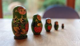 Stock Image: Matrjoschka