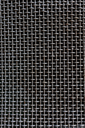 Stock Image: Metal grid texture