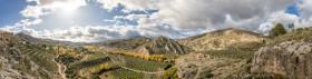 Stock Image: Mountain Landscape  by Villanueva de las Torres in Andalucia Spain