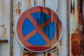 Stock Image: No Parking sign