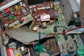 Stock Image: Old hardware trash