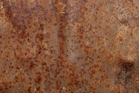 Stock Image: Old red grunge rusty metal texture background