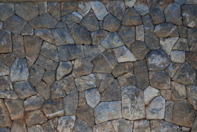 Stock Image: old stone wall texture