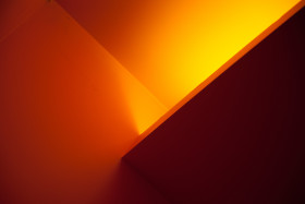 Stock Image: orange light
