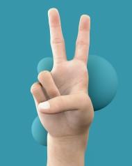 Stock Image: peace