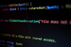 Stock Image: PHP Code