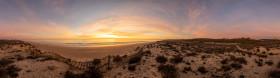 Stock Image: Portugal Algarve Beach Landscape