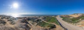 Stock Image: Praia do Seixo Panorama Landscape in Portugal