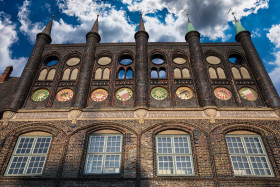 Stock Image: Rathaus Lübeck
