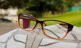 Stock Image: Reading glasses