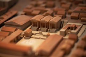 Stock Image: Roman model workshop