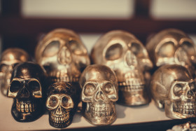 Stock Image: Skulls