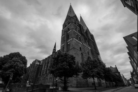 St. Jakobi Church in the historic centre of Luebeck