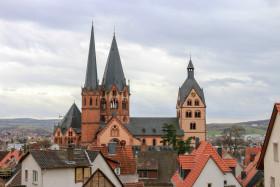Stock Image: St. Mary church in Gelnhausen