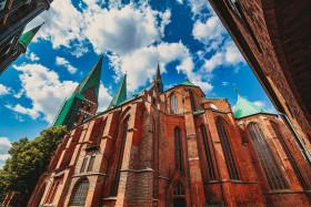 Stock Image: St. Mary's Church, Lübeck