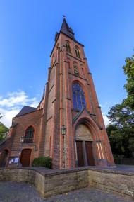 Stock Image: St. Michael Church in Velbert Langenberg